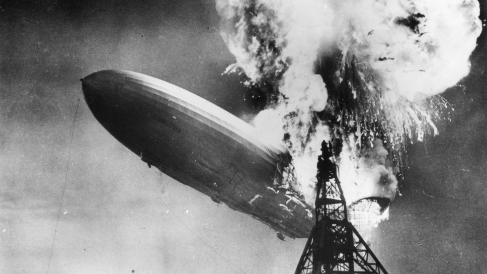 But the Hindenburg disaster at Lakehurst, New Jersey, in 1937, put paid to the era of passenger-carrying airships.