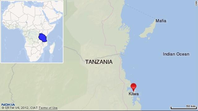 Kilwa map. Click to expand