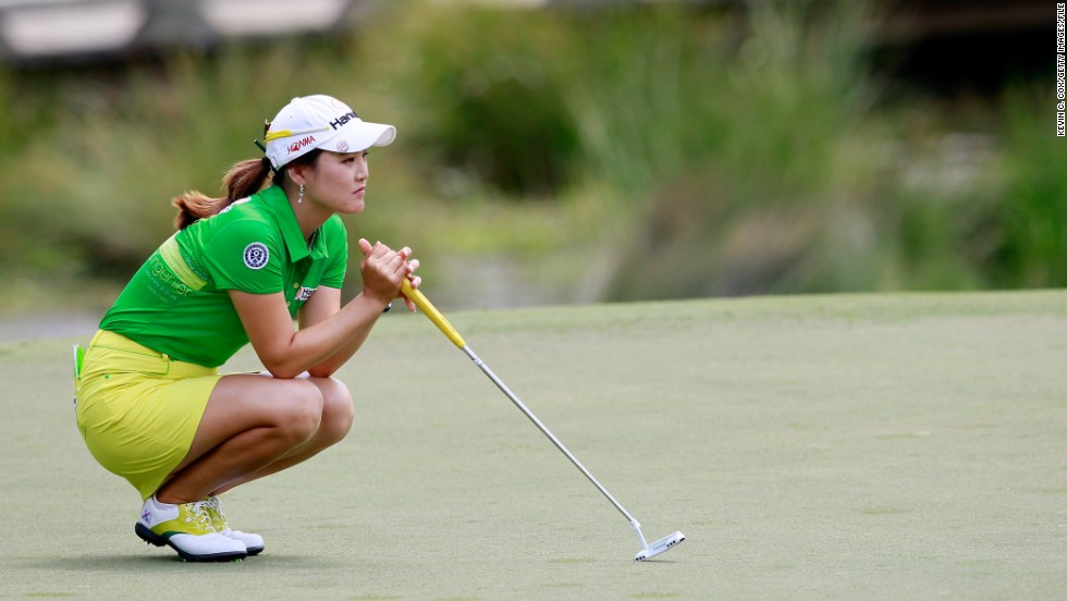However, the 22-year-old missed the halfway cut at the second major of 2013, the LPGA Championship in Pittsford, New York, at the start of June.