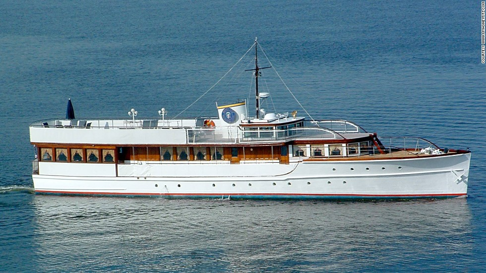 If only the Honey Fitz could talk, the stories this presidential yacht could tell. Built over 80 years ago, the pretty wooden boat has served five U.S. presidents and after a recent makeover is now available for hire by the public.