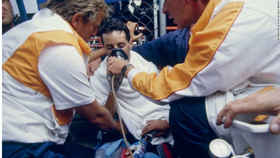Stephen Roche needed oxygen after a famous effort on the 21st stage to La Plagne in 1987 -- the year he won the Tour, Giro d'Italia and world championship treble.