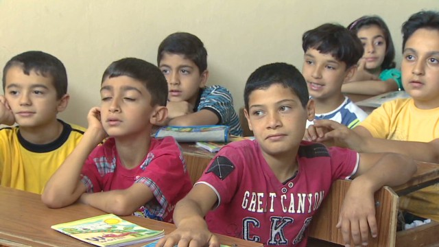 Syria's children traumatized by war