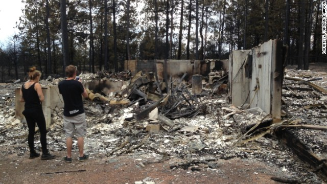 how to clean house after wildfire