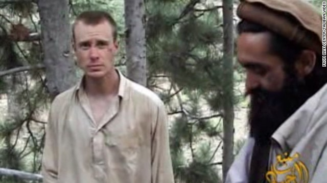 Town lights way for Bergdahl's return
