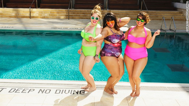 "Plus-sized fashion blogger Gabi Gregg popularized the term ""fatkini"" last year, she dreamed of helping plus-sized women feel better about themselves during the swimsuit season. This spring, when she teamed up with clothing line SwimSuitsForAll to actually create one, it sold out in one day."
