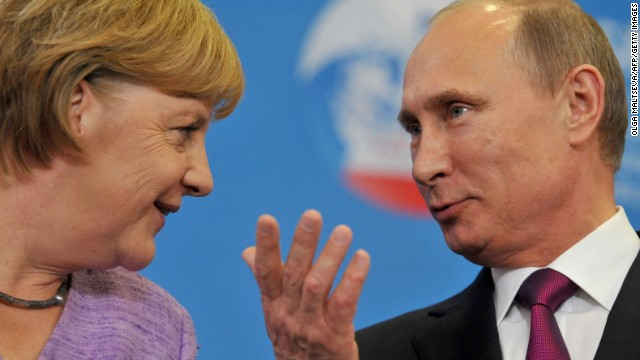 Putin & Merkel: 2 very different leaders