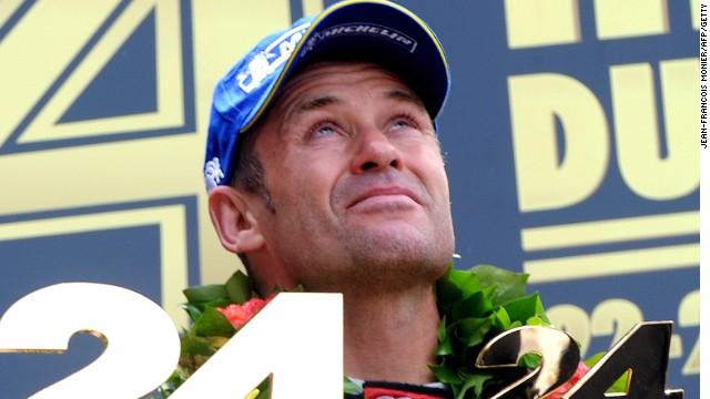 Tom Kristensen dedicated his victory to fellow Dane Allan Simonsen after winning Le  Mans for Audi.