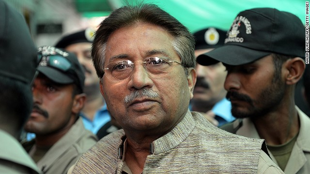 Musharraf indicted in Bhutto killing