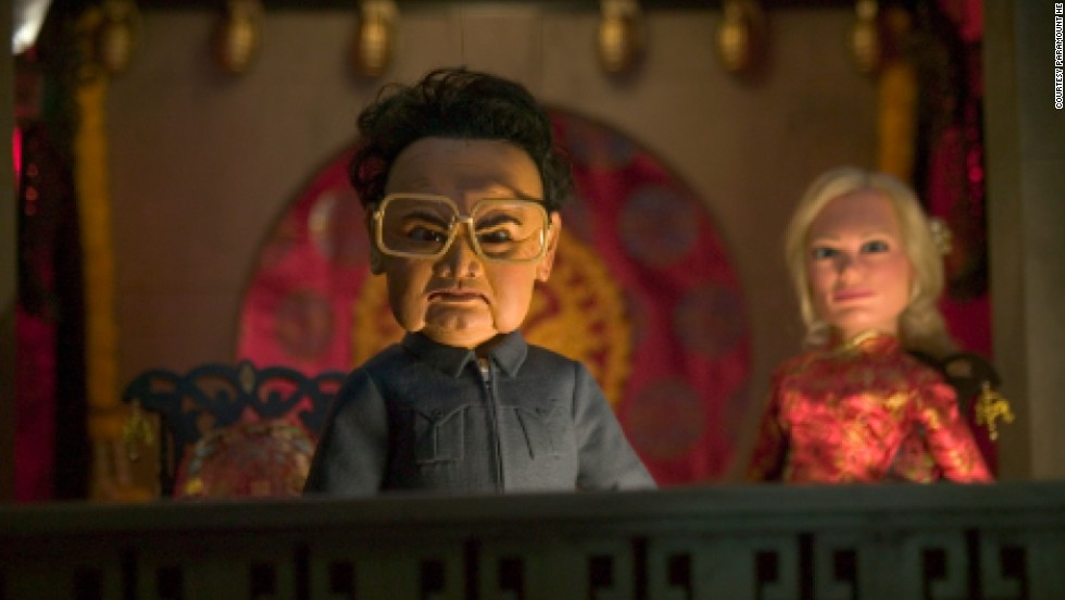 "Even after the advent of photorealistic CGI, puppetry isn't dead -- in part thanks to South Park creators Trey Parker and Matt Stone, whose clumsy marionettes in ""Team America: World Police"" satirized Hollywood's slick action blockbusters. But it's the film's villain -- then Korean leader <strong>Kim Jong Il</strong> -- who steals the show."