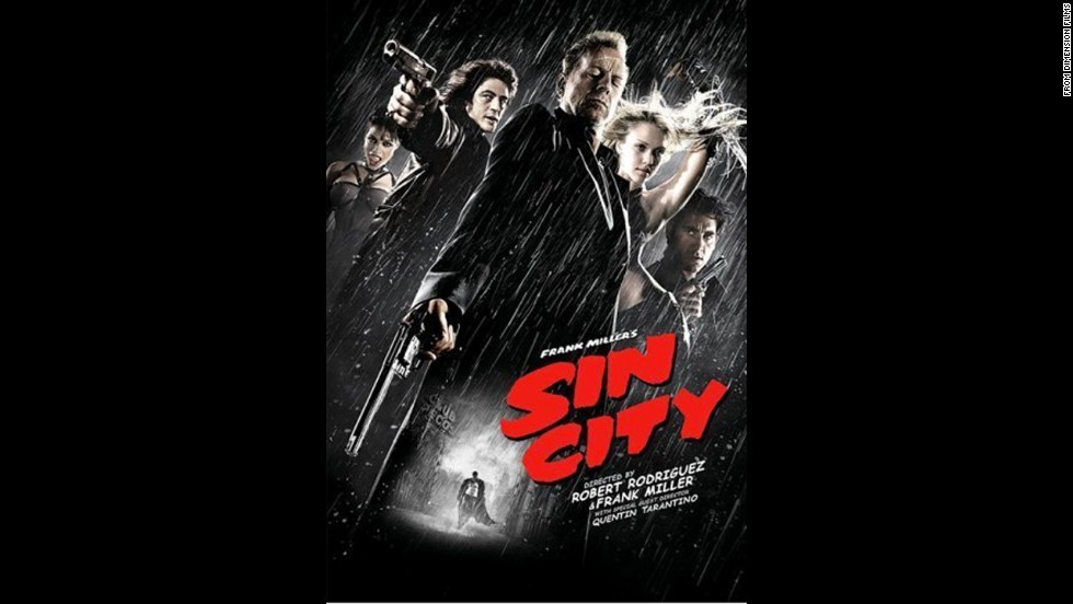 "Adapted from a comic book series, 2005's ""Sin City"" was dark and bloody as it followed the tale of four characters dealing with crime and corruption."