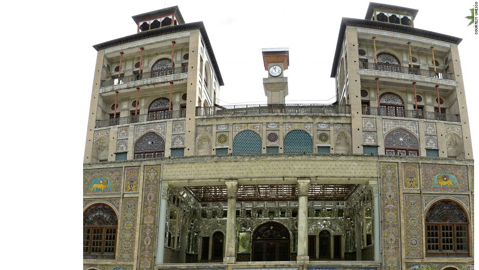 Iran's Golestan Palace is a masterpiece of the Qajar era, embodying the successful integration of earlier Persian crafts and architecture with Western influences, says UNESCO's inscription. The walled Palace is one of the oldest groups of buildings in Tehran. It became the seat of government of the Qajar family, which came into power in 1779 and made Teheran the capital of the country.