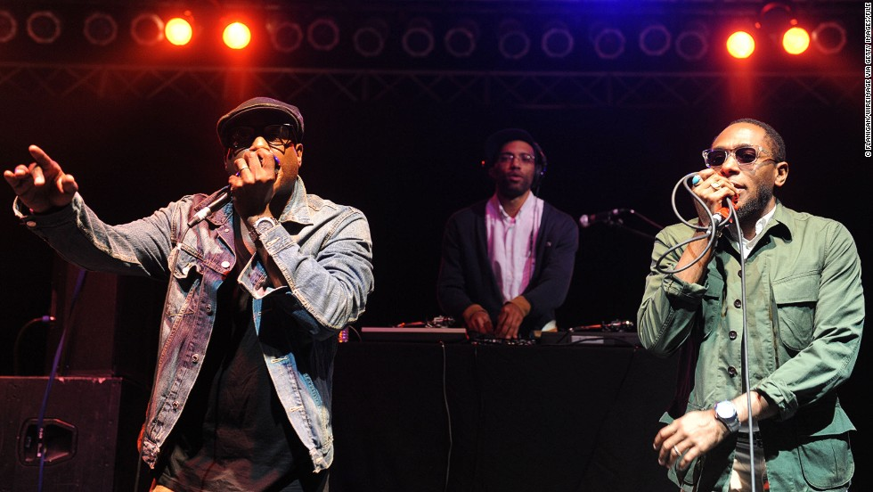 "Kweli paired up with fellow Brooklynite Mos Def (now known as Yasiin Bey), right, to form the group Black Star. The pair's 1998 debut album, ""Mos Def & Talib Kweli Are Black Star,"" is considered a classic."