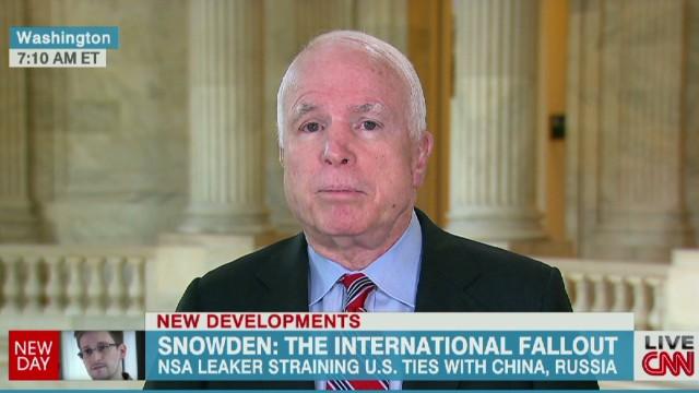 McCain: Putin 'sticks his thumb' at us