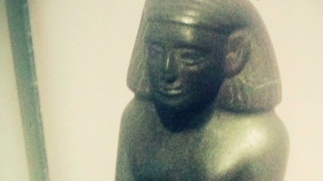 Is this ancient Egyptian statue cursed?