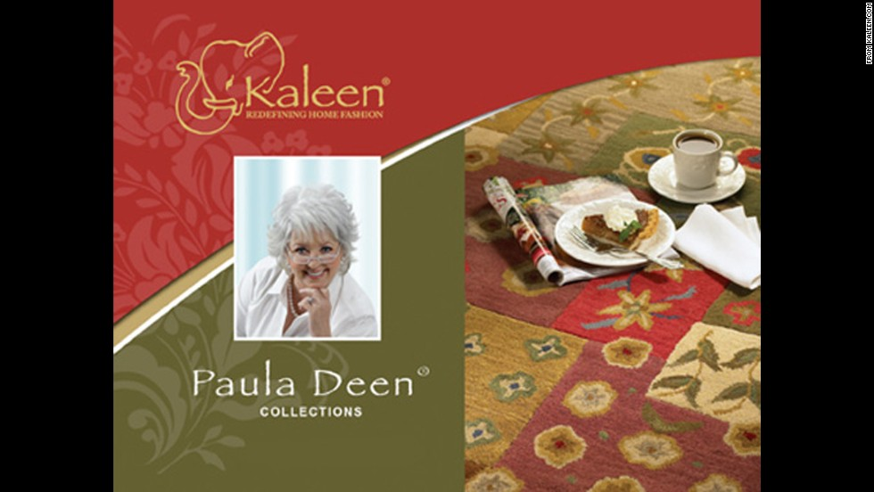 Kaleen Rugs licensed a collection of Paula Deen Comfort Rugs, which debuted in 2008. The line has since been discontinued.