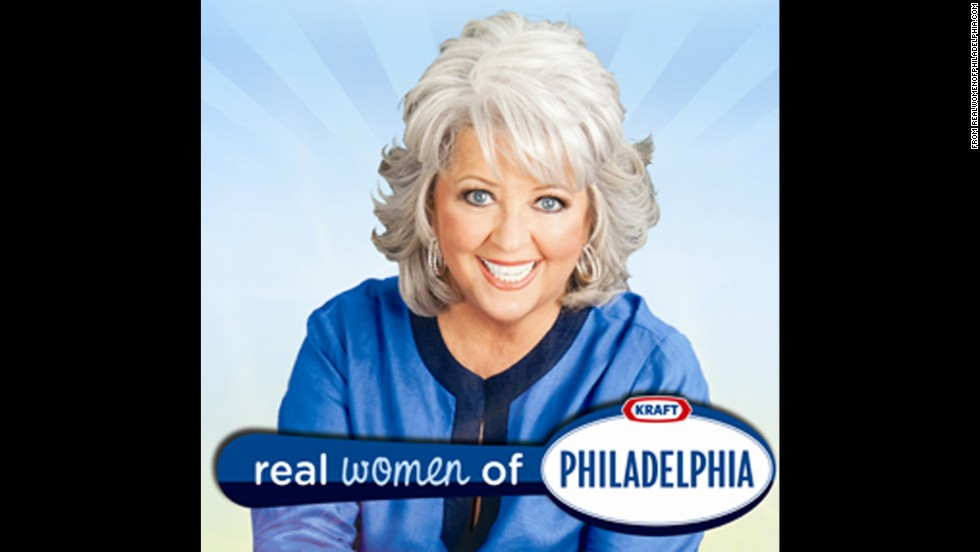 "For two seasons, Kraft Foods' ""Real Women of Philadelphia"" campaign employed Deen as the celebrity host of a contest for home cooks who shared cooking videos featuring the brand's signature cream cheese. Kraft has not worked with Deen since early 2012."