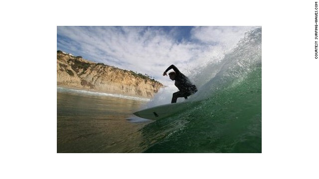 43. Strong surfing.
