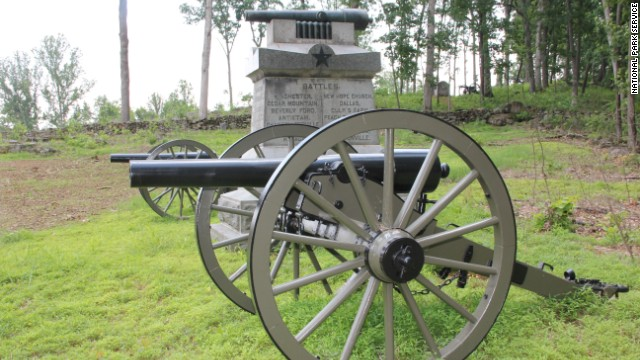 One of Kostic's favorite spots at Gettysburg is Powers Hill, the site of Union Gen. George Gordon Meade's temporarry headquarters on July 3, 1863.
