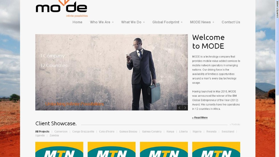 """""""<a href=""""http://mo-de.co/"""" target=""""_blank""""><strong>MoDe</a></strong> (Mobile-Decisioning) is a mobile nano-credit startup based in Kenya. The company uses proprietary technology to enable qualifying prepaid mobile subscribers to access airtime on credit. <br />""""Repayments are recovered by MoDe on behalf of the mobile operators from the subscriber's next top-up. MoDe also won IBM's inaugural SmartCamp in Africa in 2012."""""""