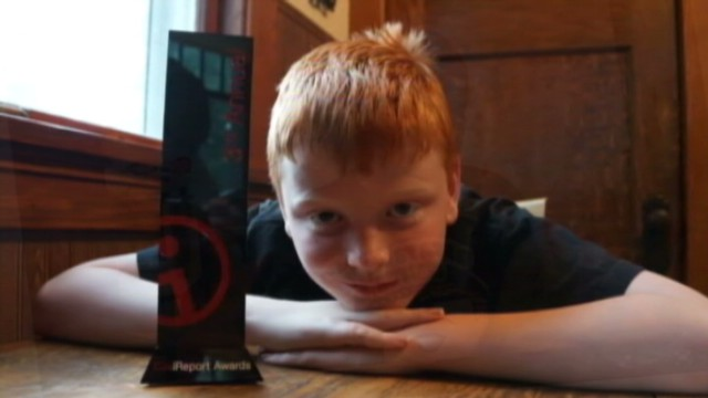 Boy with autism wins CNN iReport award