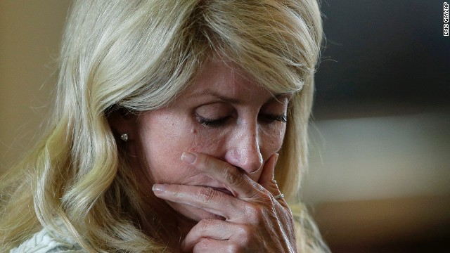 Wendy Davis describes Texas filibuster