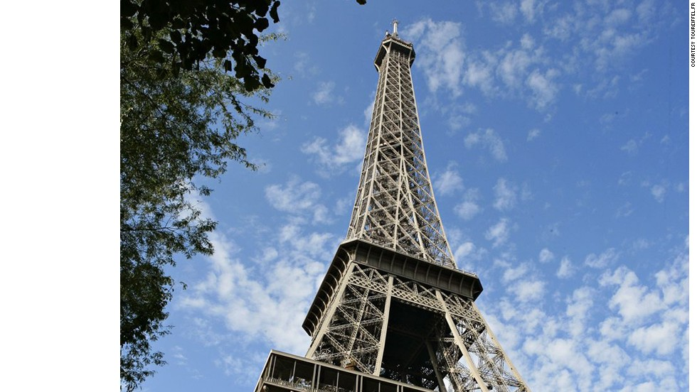 Temperature alters the height of the Eiffel Tower by up to 6 inches (15 centimeters) over the year.<br />The Eiffel Tower weighs 13,200 tons and was the first building to surpass the height of the Great Pyramid of Giza. It remained the world's tallest building until 1929, when New York's Chrysler Building took the top spot. Gustave Eiffel's initial building plans and calculations were so precise that no revisions had to be made during the construction process. <strong>Completion date:</strong> March 31, 1889.