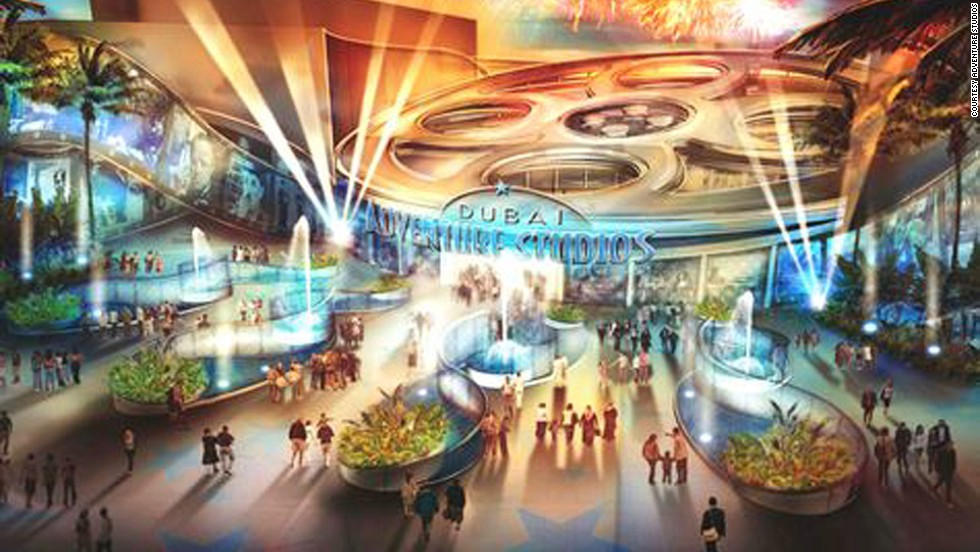 Dubai Adventure Studios will be a movie-themed park that will also host film premieres. <strong><br />Opening date</strong>: late 2014.