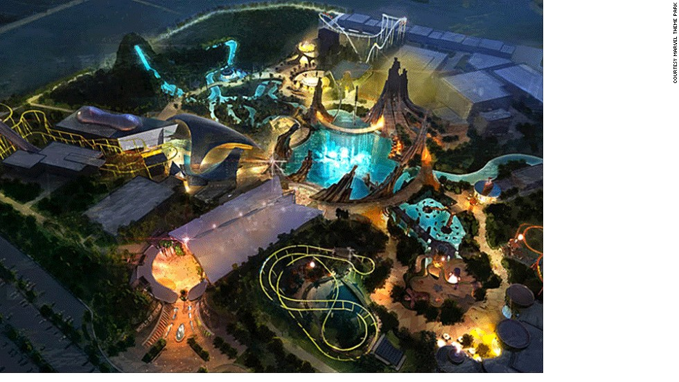 The guys behind Marvel City Theme Park have made the most of the space on offer by relying heavily on projections and 3D effects. <strong><br />Opening date</strong>: December 2013.