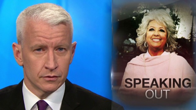 Paula Deen's emotional interview