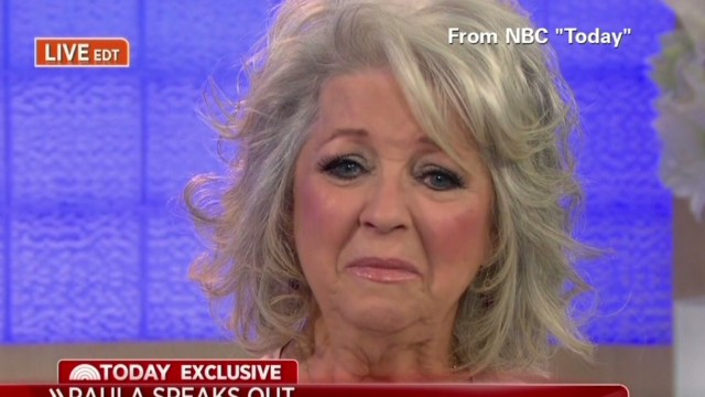 Paula Deen issued a tearful apology on the Today Show.