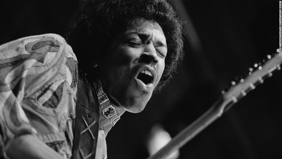 "<a href=""http://www.cnn.com/2013/03/04/showbiz/music/jimi-hendrix-new-album-people-hell-angels/index.html?iref=allsearch"" target=""_blank"">Jimi Hendrix is another legend</a> who died young, passing away at 27 in September 1970. According to <a href=""http://www.rollingstone.com/music/news/jimi-hendrix-1942-1970-19701015"" target=""_blank"">Rolling Stone</a>, police said at the time that it was a drug overdose and that he'd died of suffocation in his own vomit. We can only imagine what the rock star could have gone on to create, given the incredible influence he had on music in the short span of time he was internationally known."