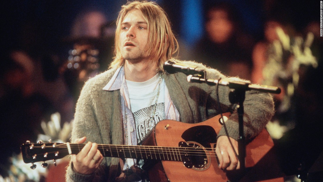 Kurt Cobain died in 1994. The Nirvana front man committed suicide at his home in Seattle.