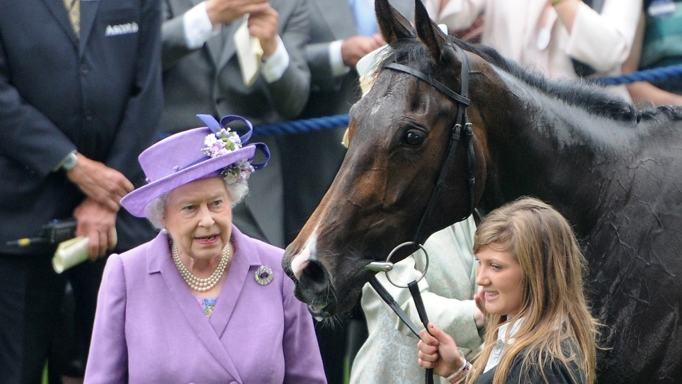 Queen Elizabeth was delighted when her horse, Estimate, won at Royal Ascot recently. The champion filly was one of the few female horses to win at the five-day competition. In Britain, 67% of winning thoroughbreds are male.