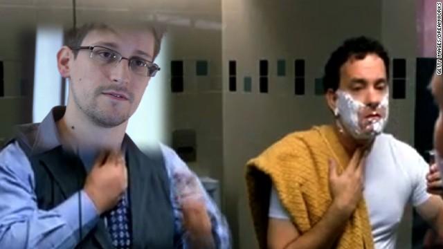 Edward Snowden joins 'The Terminal' club