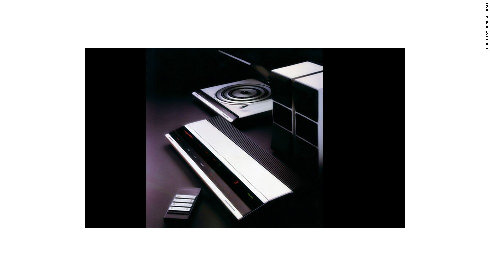 "This 1979 Bang&Olufsen stereo (2400) was nominated by U.S. designer Karim Rashid: ""I bought this stereo when I was 19. At the time it cost a fortune but I still use it today. It has never failed me. Its minimalism, plug-and-play interaction, universal interface, form and elegance all supersede the tech objects of today."""