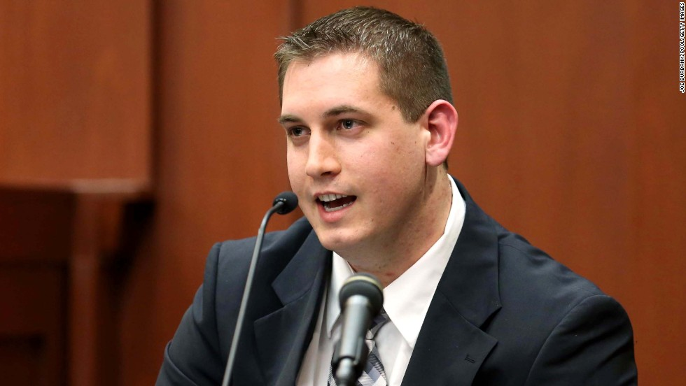 Seminole County 911 dispatcher Sean Noffke testifies on Monday, June 24, about his conversation with Zimmerman on a non-emergency line the night of the shooting.