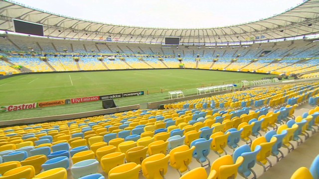 Tour Brazilian football's spiritual home