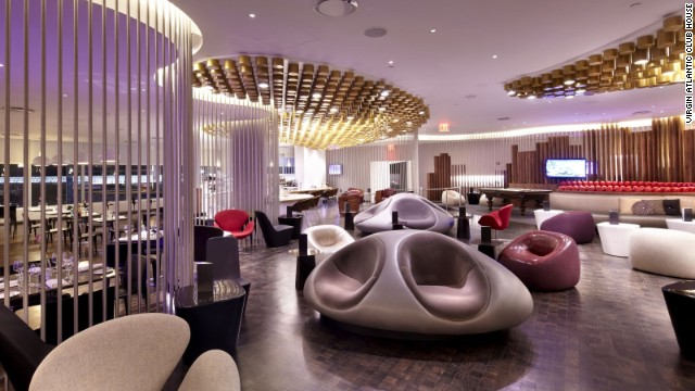 Virgin Atlantic Clubhous JFK