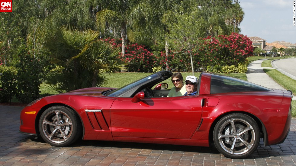 "<a href=""http://ireport.cnn.com/docs/DOC-996635"">Eddie Hicks </a>sits outside his drive in Bradenton, Florida, with his 2013 Sport Coupe. ""All sports cars look good, but a Corvette is truly 'America's Sports Car,'"" he said."