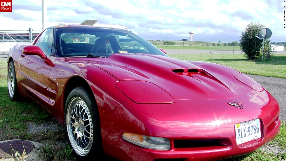 "<a href=""http://ireport.cnn.com/docs/DOC-995996"">Michael Venth</a> owns a 2001 Corvette in candy apple red. ""Dollar-for-dollar, the Chevy Corvette is the best sports car on the planet and it's made in the United States,"" he said."