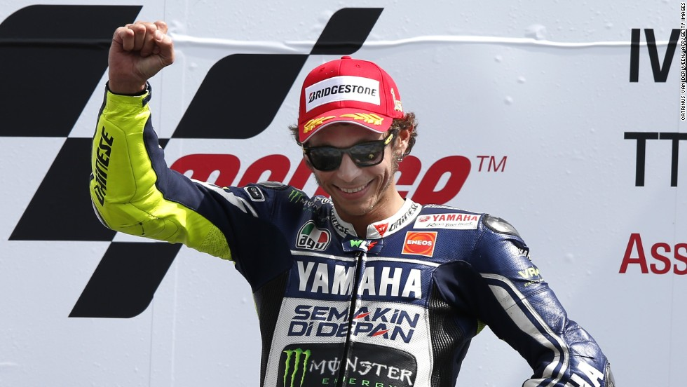 Arguably the sport's most famous rider of all time, Valentino Rossi has won seven world titles during an illustrious career, and he would love nothing more than to add to that tally this year. The 35-year-old Italian's last title win, however, came back in 2009, but his fourth-placed finish last season was an improvement on his previous placings of seventh and sixth. The Movistar Yamaha MotoGP rider has also impressed in preseason testing.