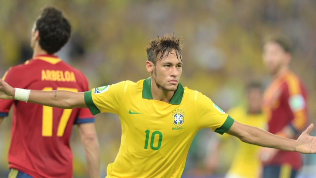 Brazil wins Confederations Cup