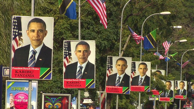 Obama to talk trade in Tanzania