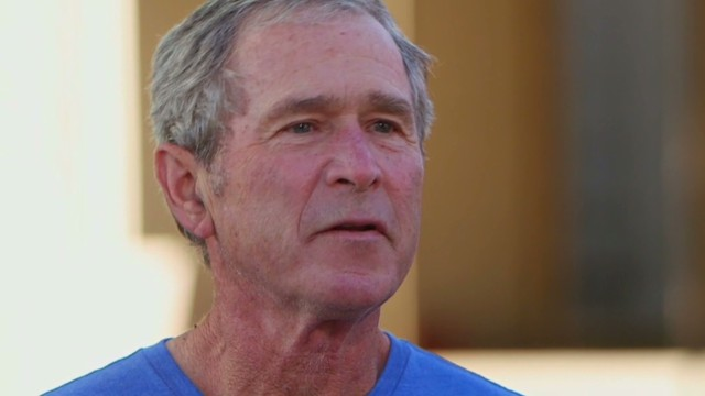 Bush on Snowden: He damaged country