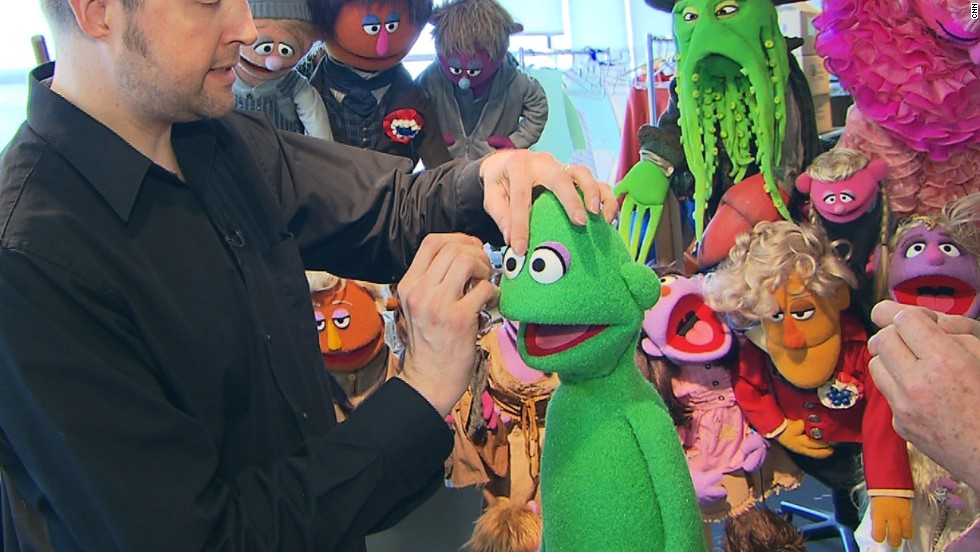 """A lot of Sesame Street characters have eyes that are very close to each other,"" says Weber. ""When you look straight at them they are quite cross-eyed but what they're trying to do is make contact with the camera... They are making that connection with their audience, which is quite important.""<br />"