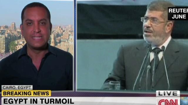 Egypt's military issues ultimatum