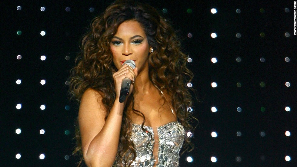 "Beyonce, seen here at New York's Madison Square Garden in 2007, <a href=""http://marquee.blogs.cnn.com/2011/03/02/beyonce-i-already-donated-that-gadhafi-money/"" target=""_blank"">donated the money</a> that she received for performing at a private New Year's Eve party on the Caribbean island of St. Barts in 2009. The party was hosted by family members of then-Libyan leader Moammar Gadhafi."