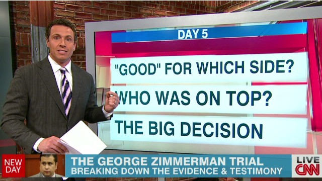 The George Zimmerman trial