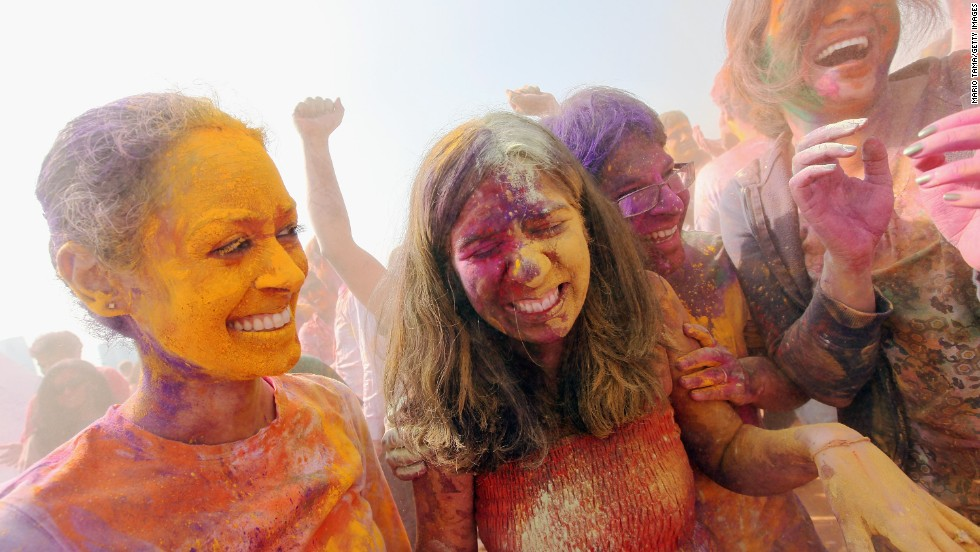 Holi is so popular that the tradition has started to make its way around the world. Last year, Indian-American revelers celebrated Holi in New York City.