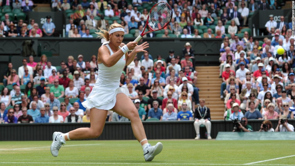 Trailing 2-4 in the final set, Lisicki showed remarkable composure to keep her nerve and reel off four straight games to clinch a famous victory.